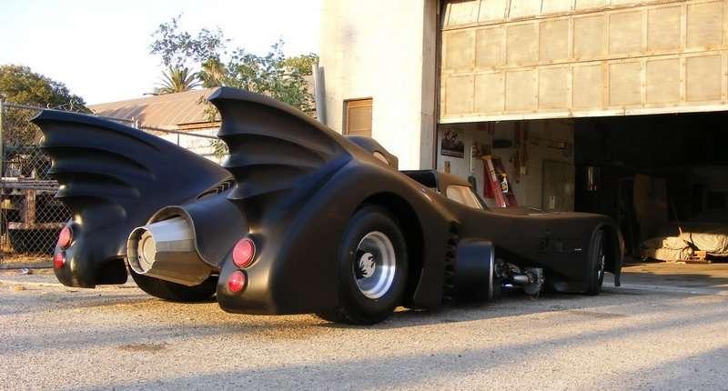 The Batmobile Michael Keaton Version Autocar Regeneration